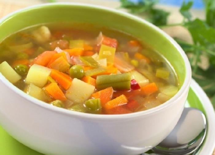 Диетические супы при гастрите