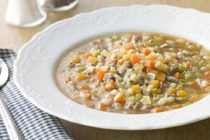 Крупяные супы при гастрите