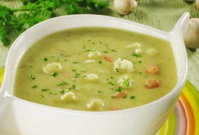 супа пюре из цветной капусты при гастрите
