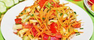 Рецепты салатов при гастрите